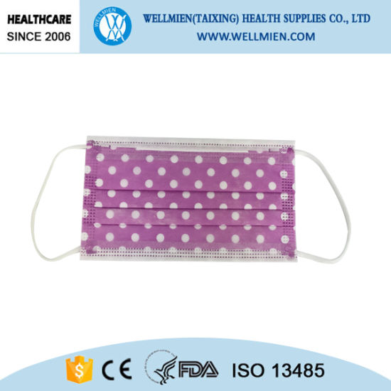 With Face Surgical Fashion Disposable Printing Mask