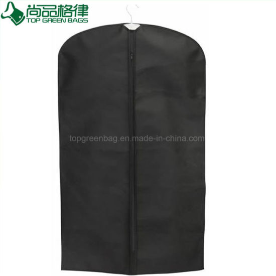 Customised Promotional Shopping Non-Woven Garment Suit Cover Gift Bags