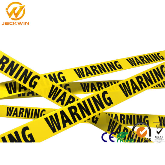 Red or Yellow Caution Tape, Hazard Warning Tape pictures & photos