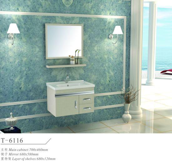 Modern Stainless Steel Metal Home Hotel Bathroom Furniture Vanity Cabinet