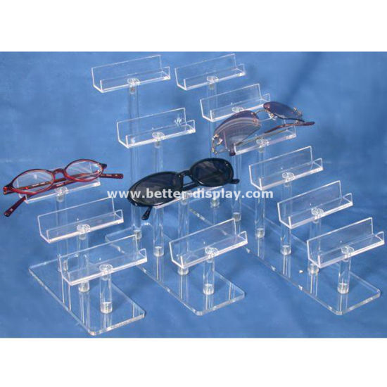 Plastic Acrylic Contact Lenses Display Cases