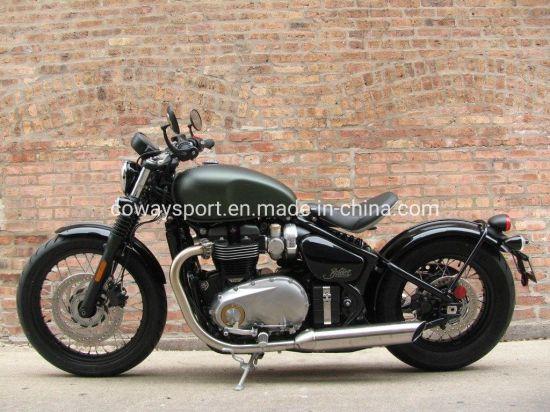 Hot Selling Cool Design Bonneville Bobber Khaki Green Motorcycle