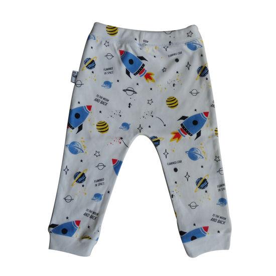 China Newborn Baby Clothes 100 Cotton Interlock Printed Newborn Baby Pants China Baby Leggings And Baby Trousers Price