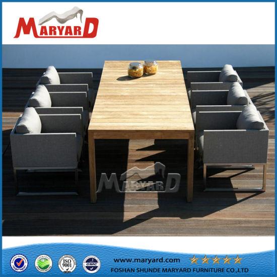China Garden Teak Wood Table Sofa Set Cushion Covers China Wooden