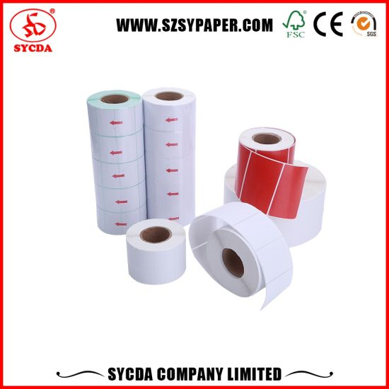 Precision Face Material Thermal Self Adhesive Label pictures & photos
