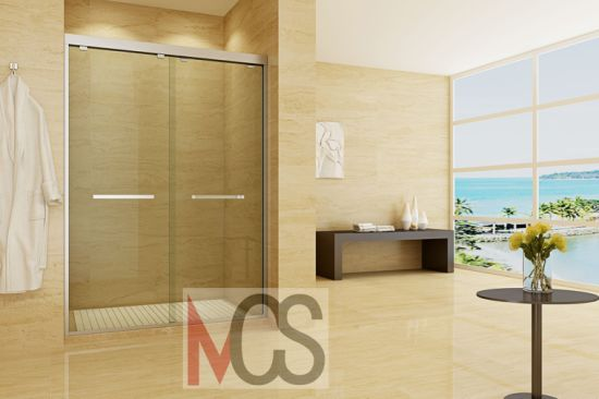 China Standard Sliding Glass Shower Door Shower Glass Door