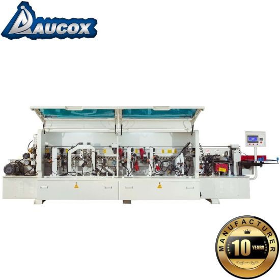 Woodworking Machinery Manual Edge Banding Machine Small with Solid Wood Corner Rounding