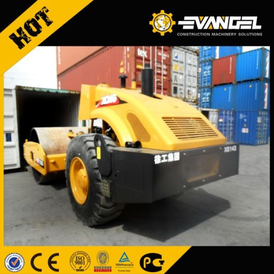 14 Ton Road Roller Single Drum Vibratory Roller (XS142J) pictures & photos