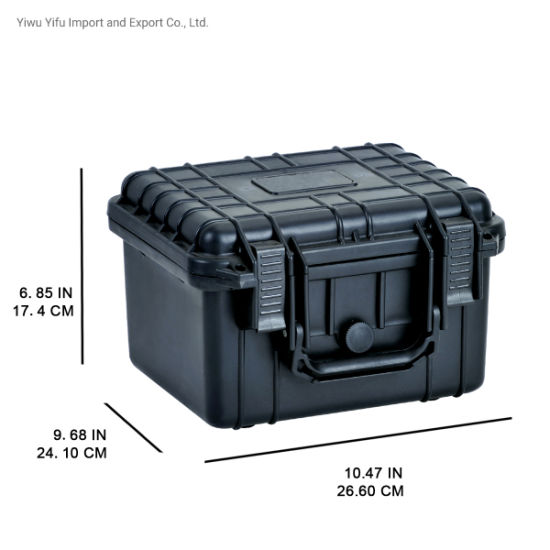 "10.62"" Waterproof&Shockproof Hard Plastic Equipment Tool Case Gun Case Pelican Style"