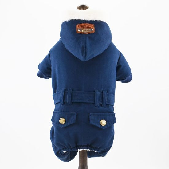 Pet Clothing Pet Costume Coldproof Warm Dog Suit Dog Clothes for Winter
