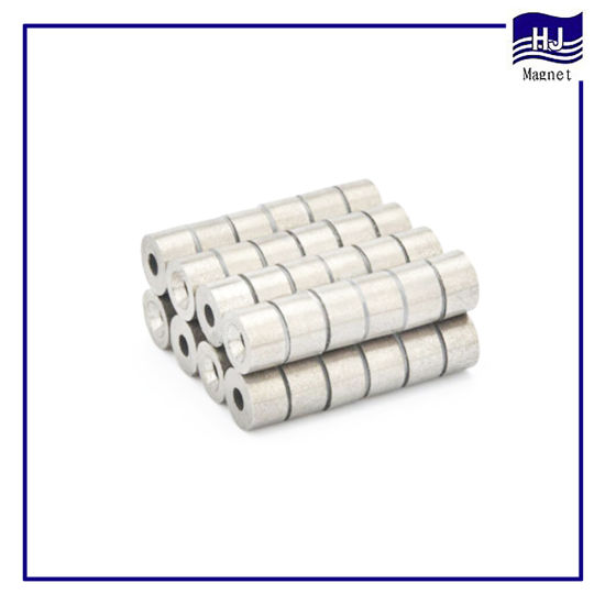 High Performance Wafer Permanent Cylinder Countersunk Ring SmCo Magnet