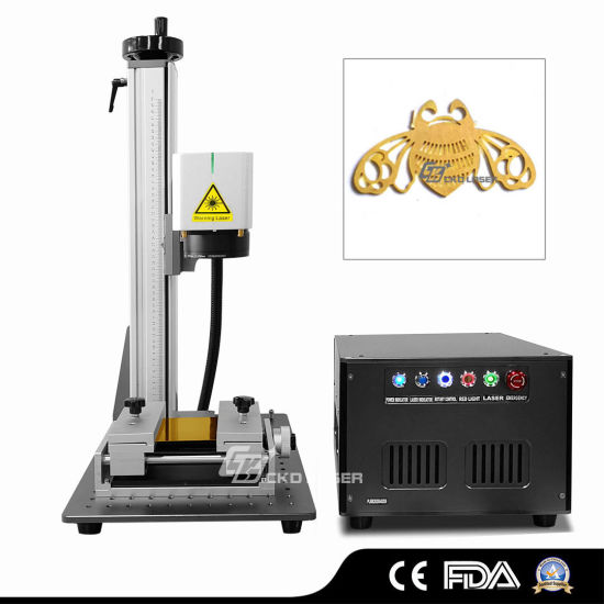 Special Laser Gold Silver Cutting Machine for Jewelry Plane Rotary Ring Cut