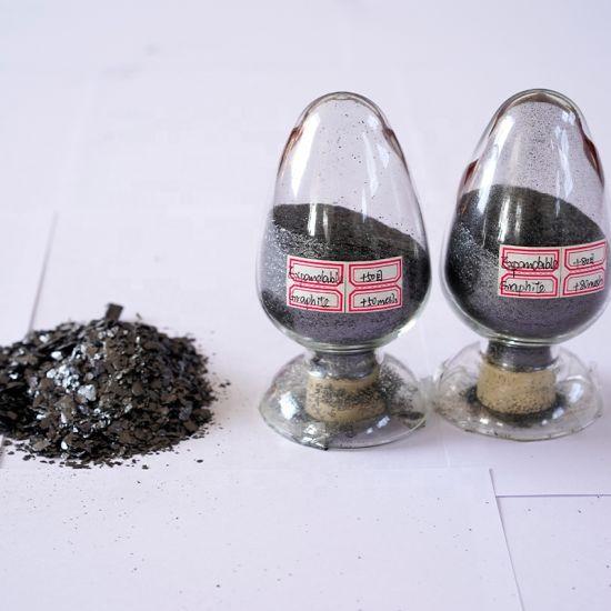 Customizable Mesh 99% High Carbon 3000mesh Dilatable Flame Retardant Naturel Flake Expandable Graphite Powder