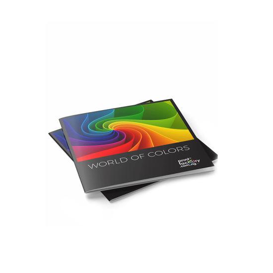 Full Color Folding Paper Brochures Accordion A4 Brochure