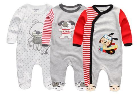 Newborn Baby Winter Clothes 2/3PCS Baby Boys Girls Rompers Long Sleeve  Clothing Roupas Infantis Menino Overalls Costumes - China Baby Rompers and  Baby Clothes price | Made-in-China.com