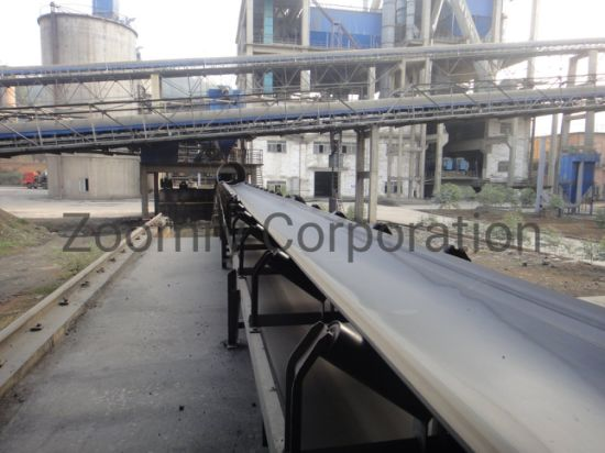 Cement Plant Belt Conveyor System for Production Line Factory Directly Supply