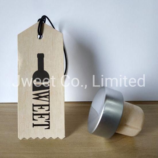 Customized T Shape Cork Stopper Cork for Liquor Wine Spirit Bottle