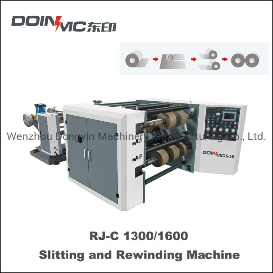Automatic Central Slitting and Rewinding Machine