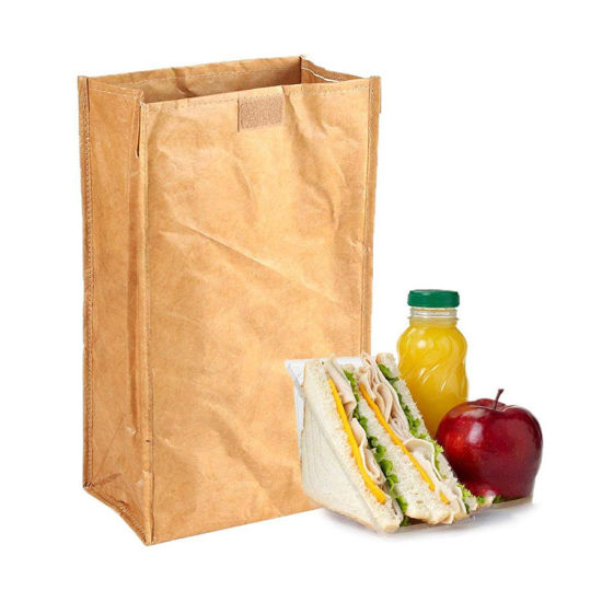 Wholesale Direct Factory High Quality Durable Lunch Sack Storage Washable Kraft Outdoor Cooler Bag
