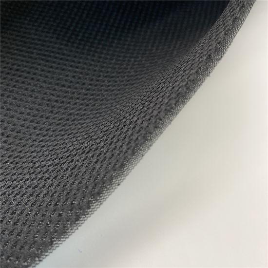 100% Polyester Black 3D Air Sandwich Mesh Fabric