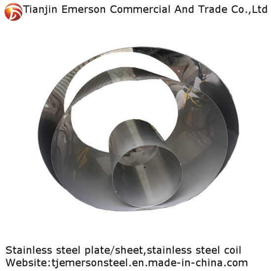 Hot Rolled 2b Polished Mirror Surface Stainless Sheet Steel Sheet / Plates in Coil