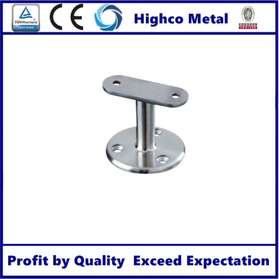 Stainless Steel Glass to Handrail Support Brackets High Quality