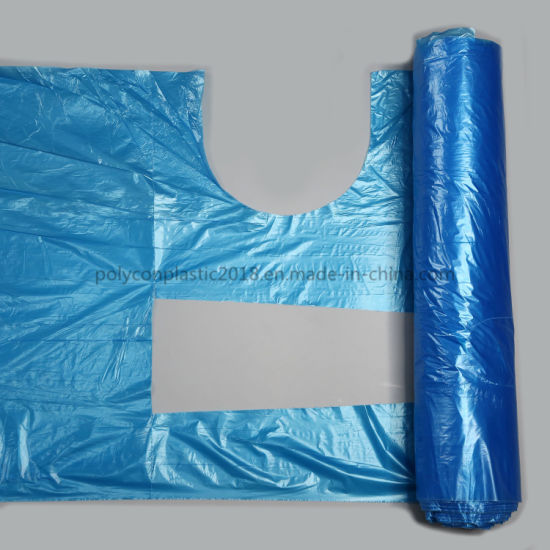 Waterproof Disposable HDPE LDPE Plastic PE Apron on Roll