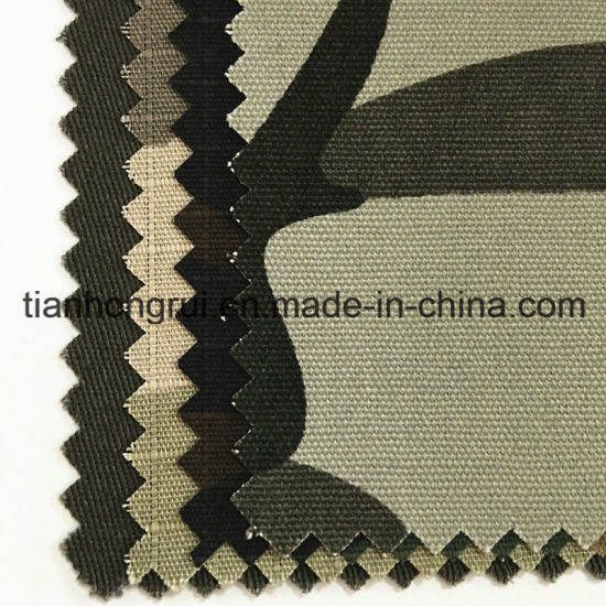 OEM Factory Supply Military Camouflage Flame Retardant Fr Tent Fabric