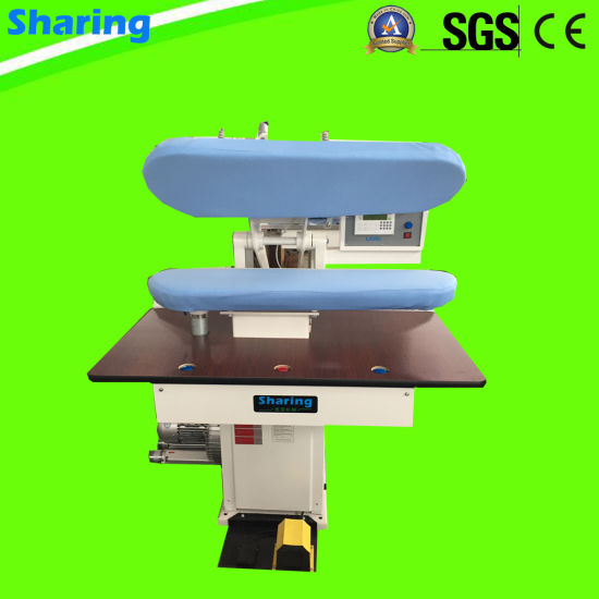 High Speed Quality Laundry and Dry Cleaning Steam Collar Cuff Press