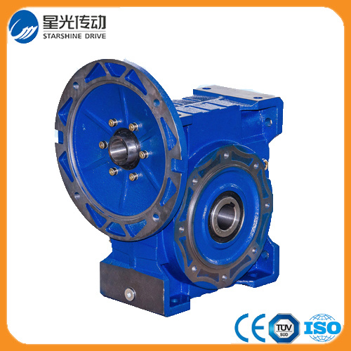 ISO9001 Aluminum Worm Gearbox 90 Degree Gear Drive RV105