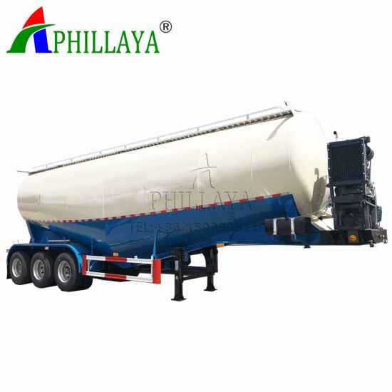 New 3 Axle Dry Powder Bulk Cement Tank Semi Trailer pictures & photos