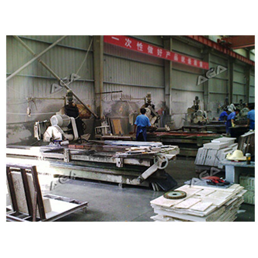 Stone Edge Cutting Machine with Blade Tilting 45 Degree pictures & photos