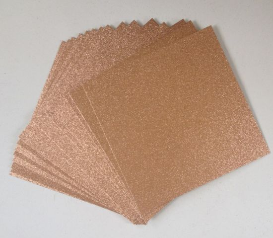Wholesale Single Side DIY Scrapbook Glitter Cardstock Paper