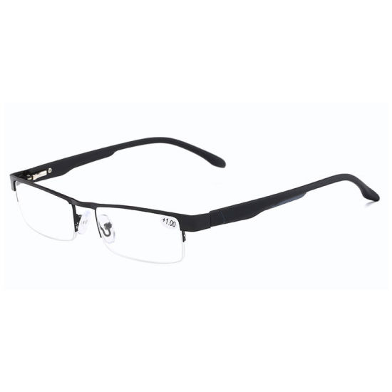 Half Frame Metal Reading Glasses Small Quantity Wholesale Reading Glasses Made in China