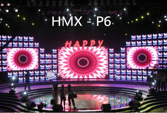 SMD P6 Indoor Full Color LED Display HD Screen pictures & photos