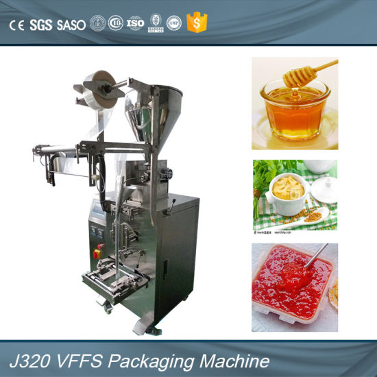 Multifunction Automatic Peanut Butter Paste Packaging Machine with Ce SGS Certificates (ND-J320) pictures & photos