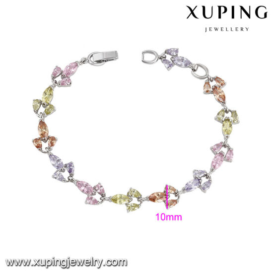 74664 Fashion Colorful Zircon Jewelry Bracelet on Global Sales Promotion pictures & photos
