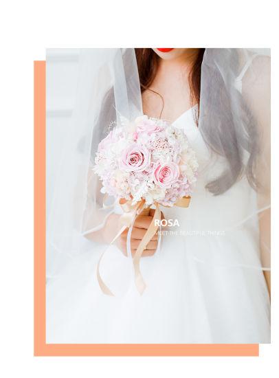 China Forever Rose Preserved Flower Wedding Bouquets Bridal Flower