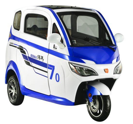 China Mini Electric 3 Wheel Car 1 2 Seat 1000 2000w 60v 72v 40km