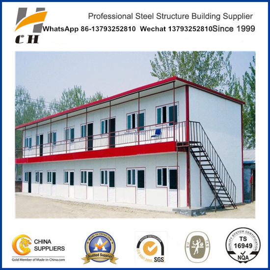 Stock Prefabricated Mobile House Prefab Steel Strucuture Frame Office