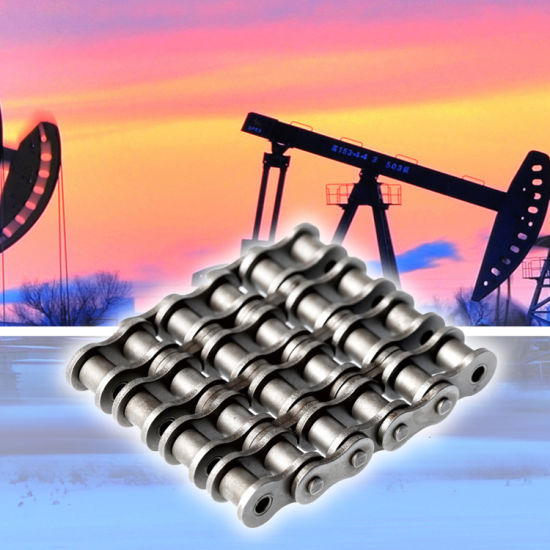 Used in Zj30L Drilling Rig for High Strength Oil Roller Chain