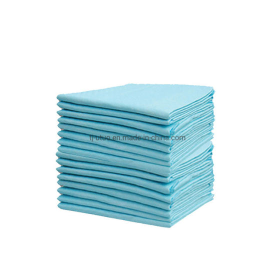 White, Blue, Green Color Nonwoven Disposable Underpads pictures & photos