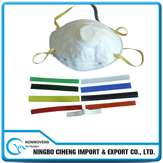 Single-Core Doubel-Core Custom Colored Plastic Metal Nose Wire for Dust Mask