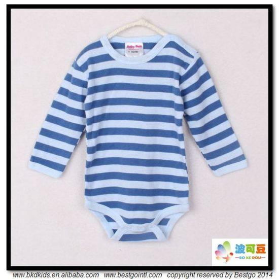 Stripe Printing Baby Clothes 100% Cotton Babies Onesie