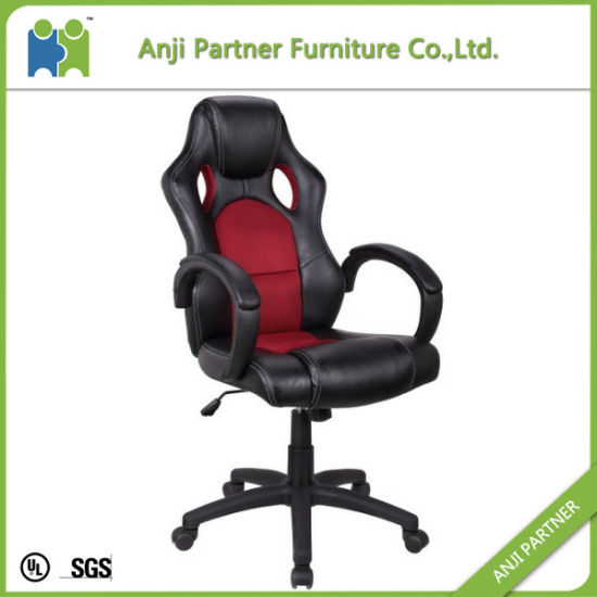 Red and Black Leather Gaming Racing Chair with High Back (Agatha) pictures & photos