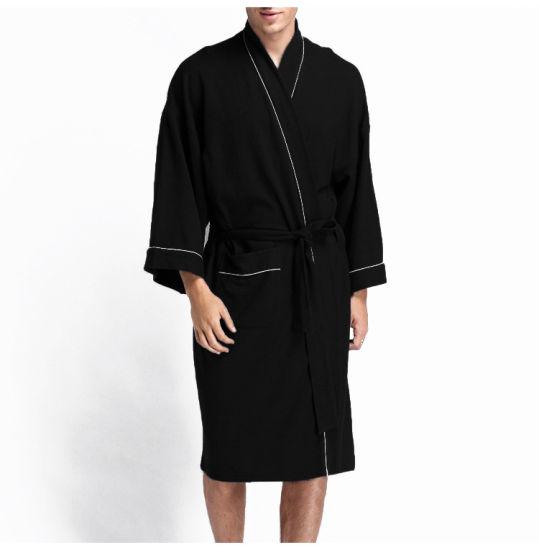 dc3de8c335 China Unisex Cotton Hotel Bathrobe Pajamas Wholesale Supply - China ...