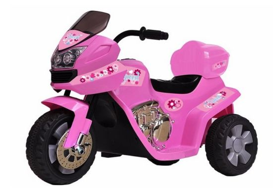 156208e-Children Ride on Motorcycle 6V Battery Powered Electric Toy Car Race and Police