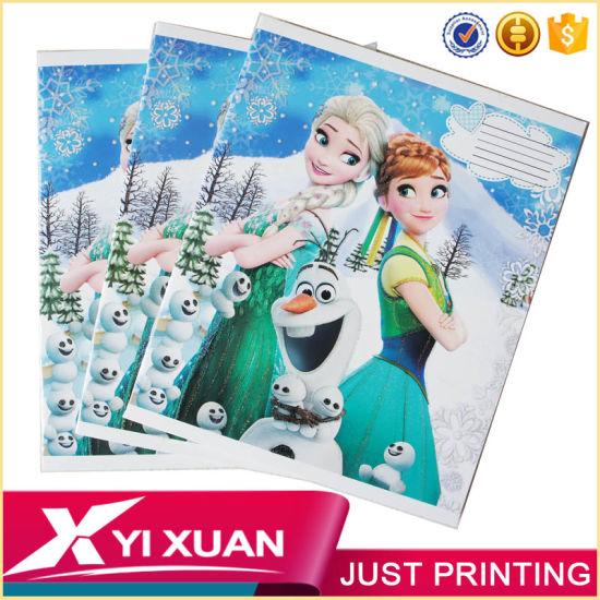 china custom cheap stationery print school hardcover paper notebook
