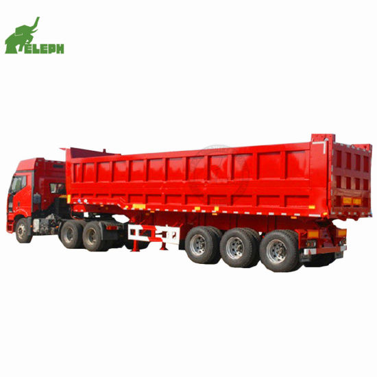 2/3 Axle 50 Ton Tipping Cargo Utility Heavy Duty Tipper Transport Sand Truck