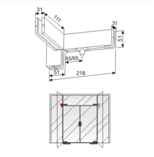 F Type Top Patch Fitting for Glass Door  sc 1 st  Kingstar Hardware Factory & China F Type Top Patch Fitting for Glass Door - China Patch Fitting ...